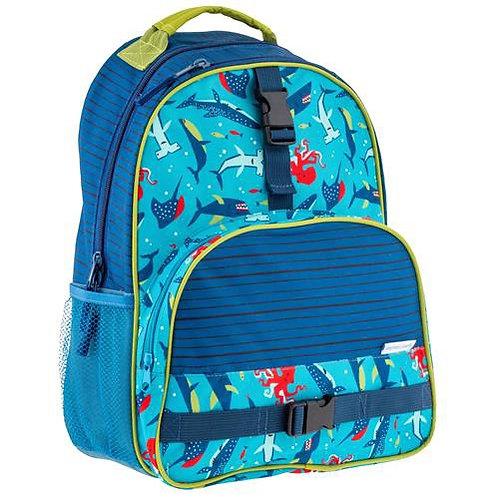 Backpack all over print Shark Stephen Joseph