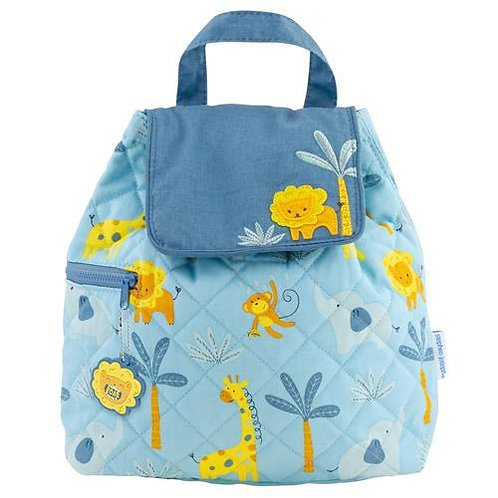 Quilted Backpack for Baby Zoo Stephen Joseph