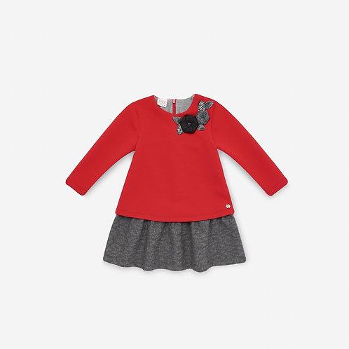 Girl Bicolor Dress Paz Rodriguez 05982