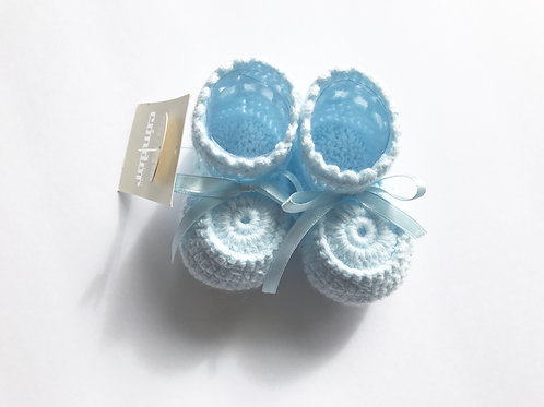 Crochet Booties Hand made. Made in Spain.