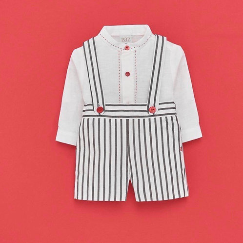 Boys Linen 2 piece Set Paz Rodriguez 15376