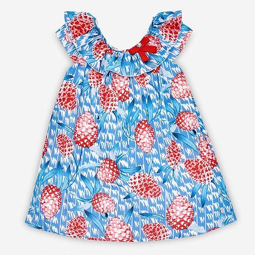 Girls Woven Dress Paz Rodriguez (blue&red) 15540