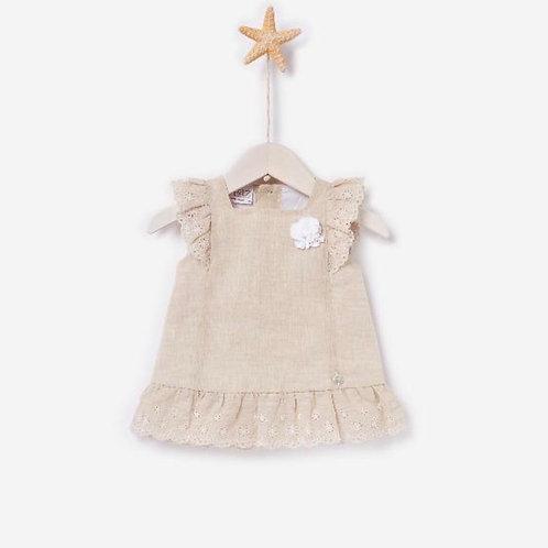 Girl Woven Dress Paz Rodriguez 05419