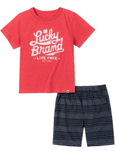 Boys Lucky Brand Casual Set