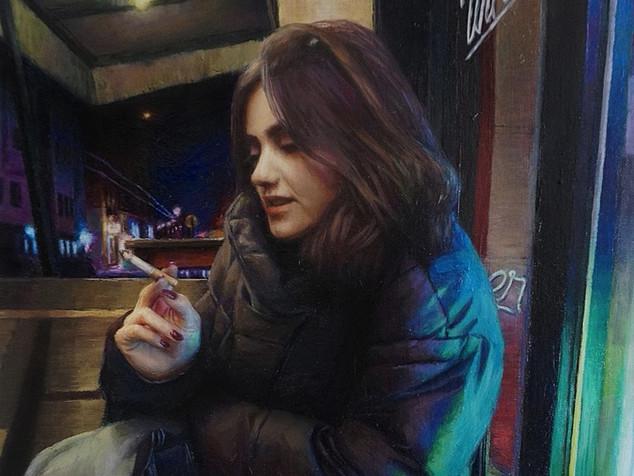 60 x 40 cm. Oil on Canvas. 2020.