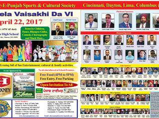6th Vaisakhi Mela -2017