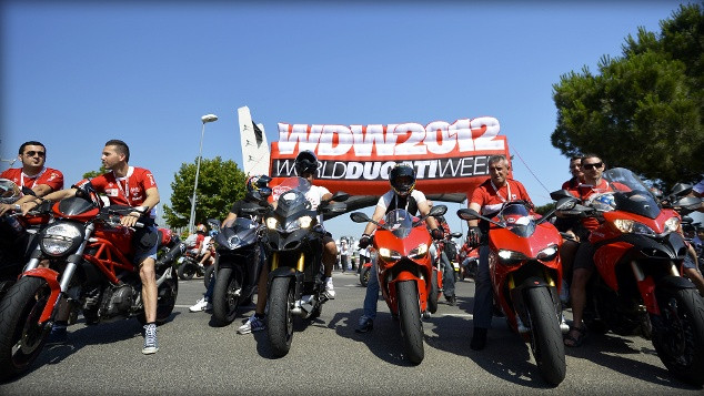 Scalda i motori la World Ducati Week