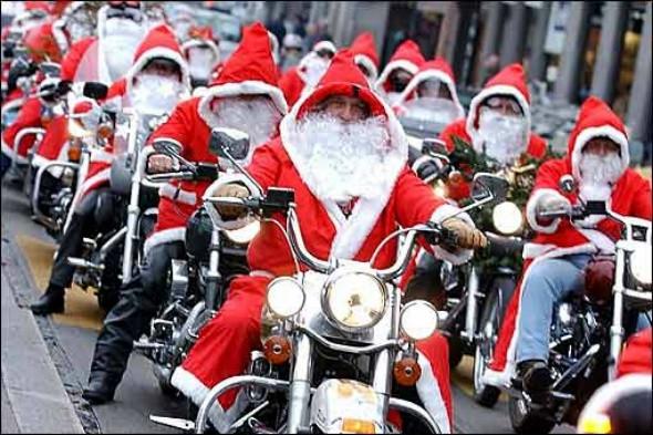 E' già arrivato Babbo Natale...