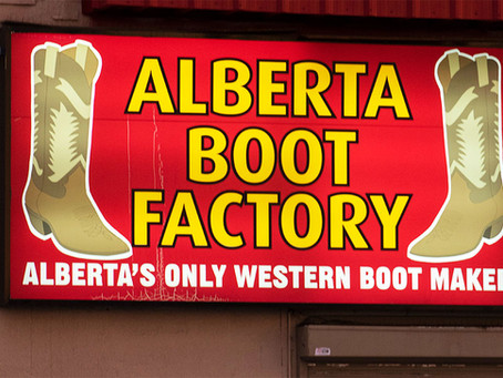 VIDEO: Alberta Boot Company steps into 40 years of business