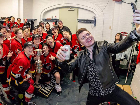 Crowdfunding sends Calgary Inferno volunteer to Clarkson Cup final
