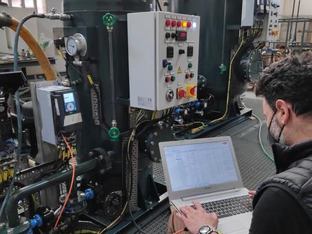 Internal factory testing
