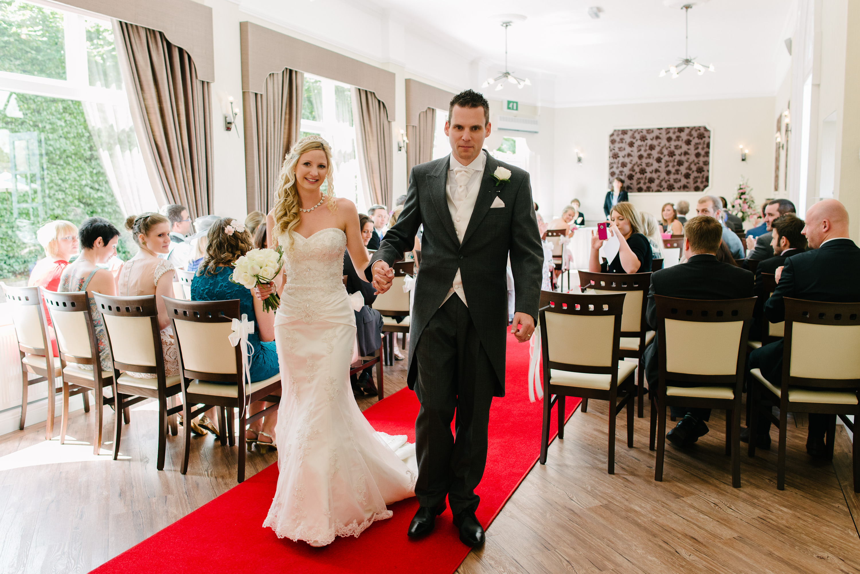 The Orangery Suite wedding ceremony