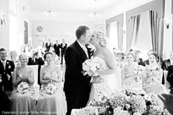 The Orangery Suite indoor wedding ceremony
