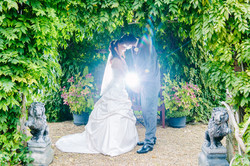 Orangery wedding pergola