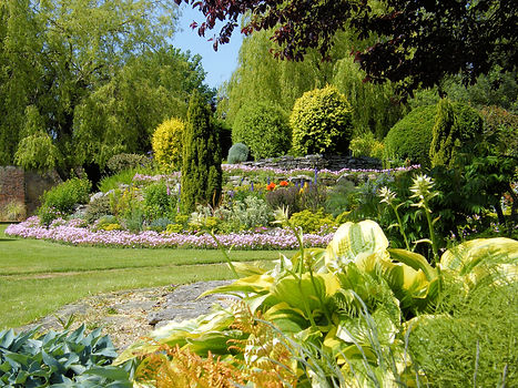 Stunning landscaped gardens