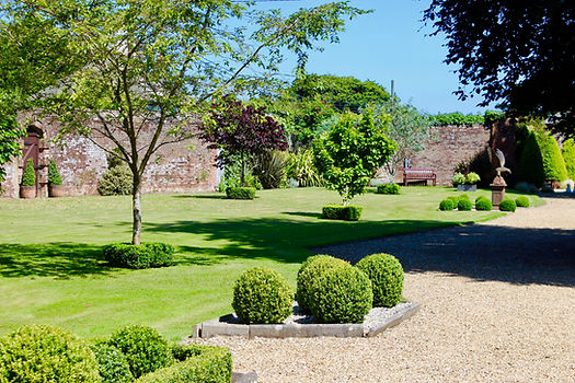 Georgian walled garden