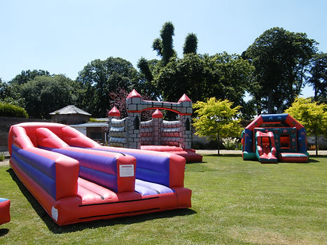 Bouncy castle corporate venue