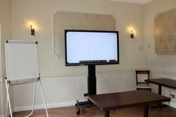 Corporate venue monitor and presentation equipment