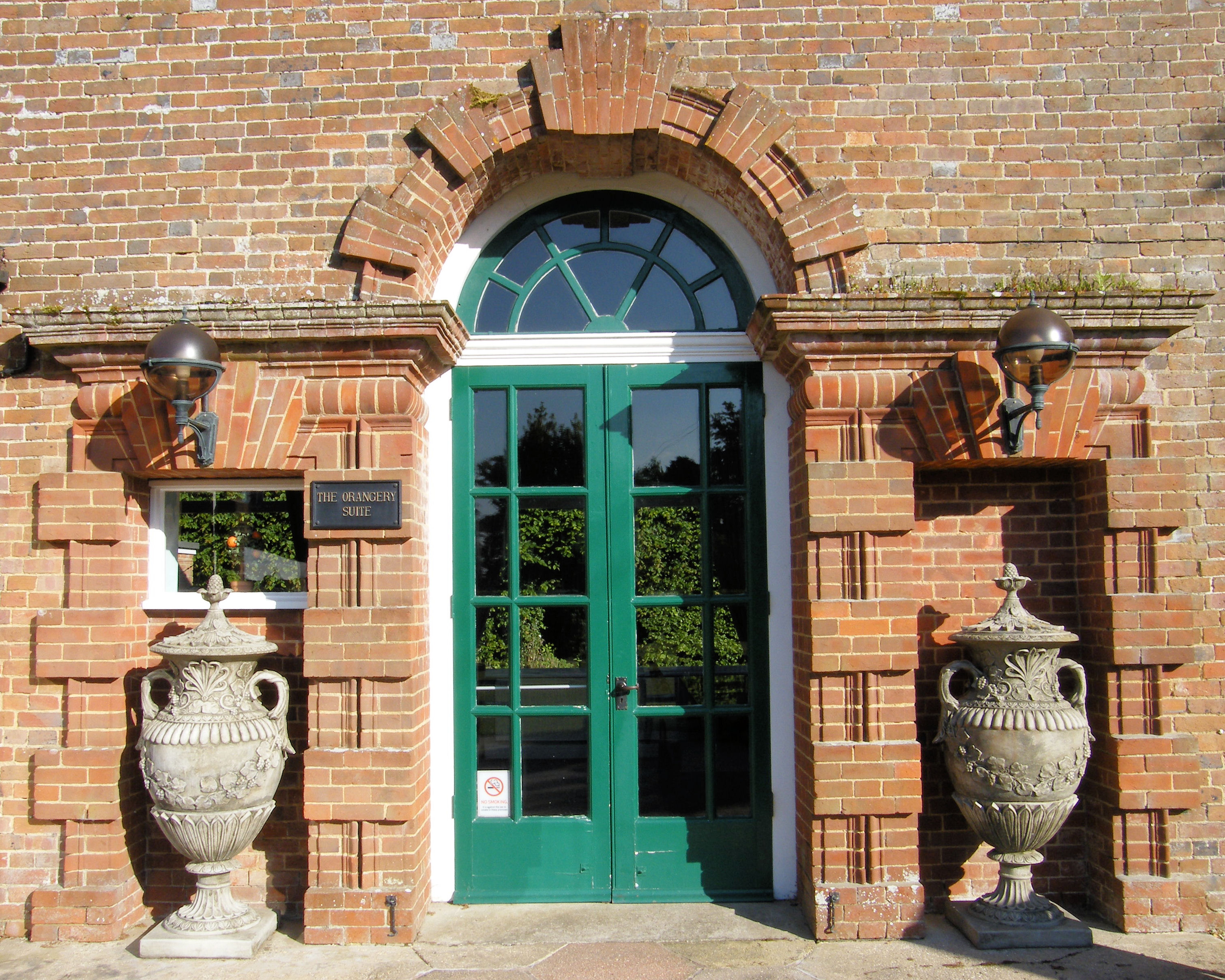Orangery Suite entrance