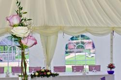 Wedding reception centre piece