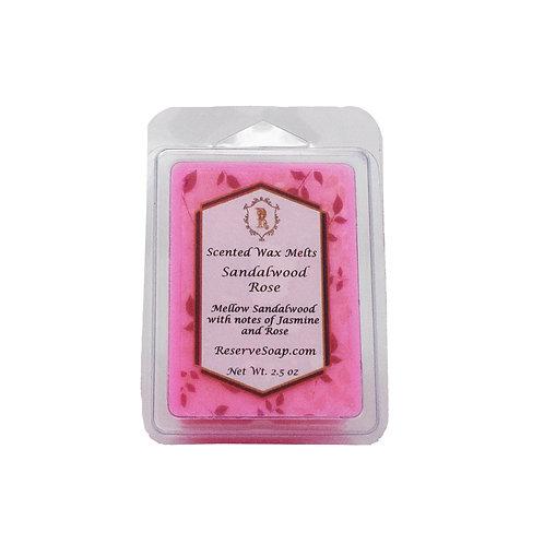 Sandalwood Rose Wax Melt