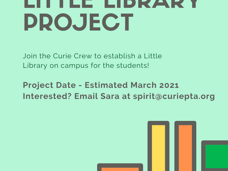 Curie Crew - Little Library Project