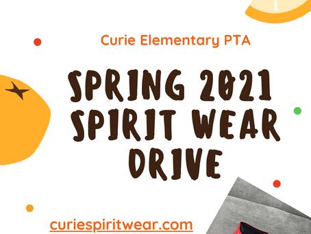 Spring 2021 Spirit Wear Drive