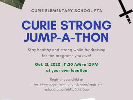Curie Strong Jump-A-Thon