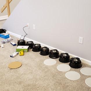 Installing Sonance Ceiling Speakers