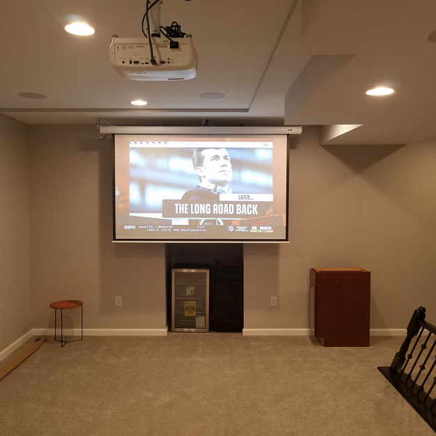 Installing Home Theater System