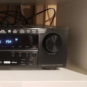Installing New Audio Receiver