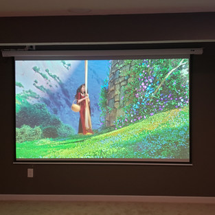 Installed Home Theater System