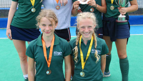 HC Knole Park girls win gold and bronze at UK Lions U13 Tournament in Nottingham
