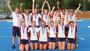 U14 Girls win Gold at the Repton Cup!