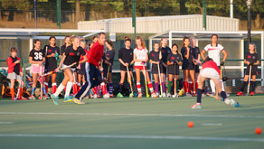 First training week for the U12/U14 girls and our youngest members!