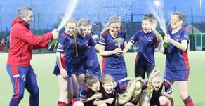 Ladies 1st Team win the League!