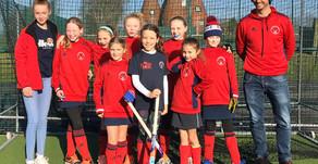 U10 Girls win the Marden Hockey Club Festival!