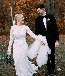 Chelsea Pub Gatineau Fall Wedding