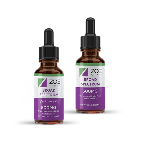 ZOE You & Your Furry Friend Pack (500mg Pet, 500mg Broad)
