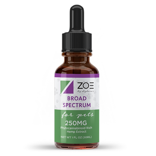 ZOE Pet Broad Specturm 250mg/30ml WHOLESALE