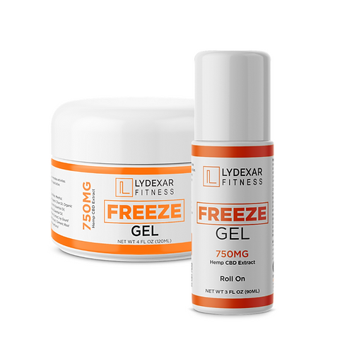 FITNESS Freeze Gel 750mg (Roll-on or Tub)
