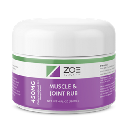 ZOE Muscle Rub Cooling Gel Canister 450mg WHOLESALE