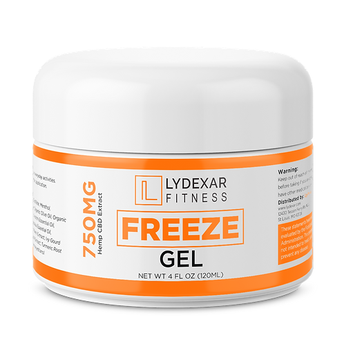 FITNESS Freeze Gel Canister 750mg