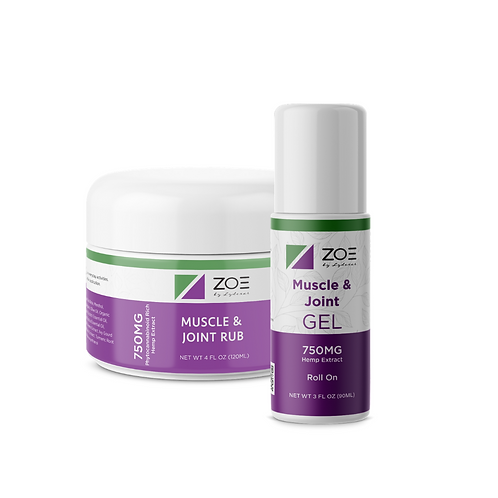 ZOE Cooling Gel 750mg (Roll-on or Tub)