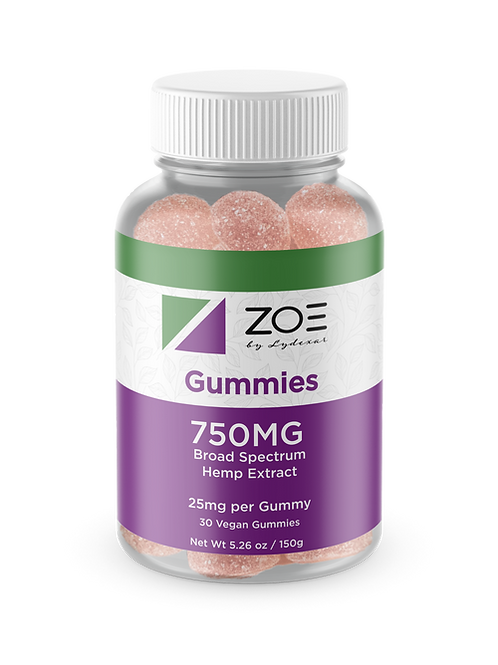 ZOE Vegan Gummies 750mg WHOLESALE