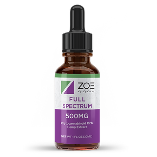 Zoe by Lydexar_Full Spectrum CBD Oil_500
