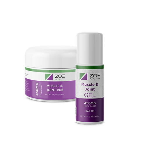 ZOE Cooling Gel 450mg (CLOSEOUT)