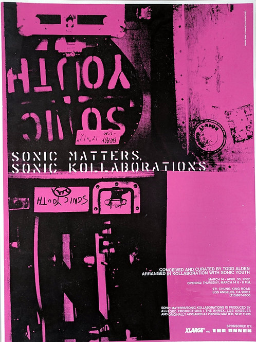Sonic Youth / Sonic Matters Sonic Kollaborations