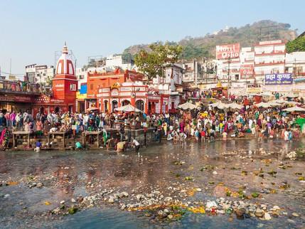 Sacred Dip - Sourabh Sharma