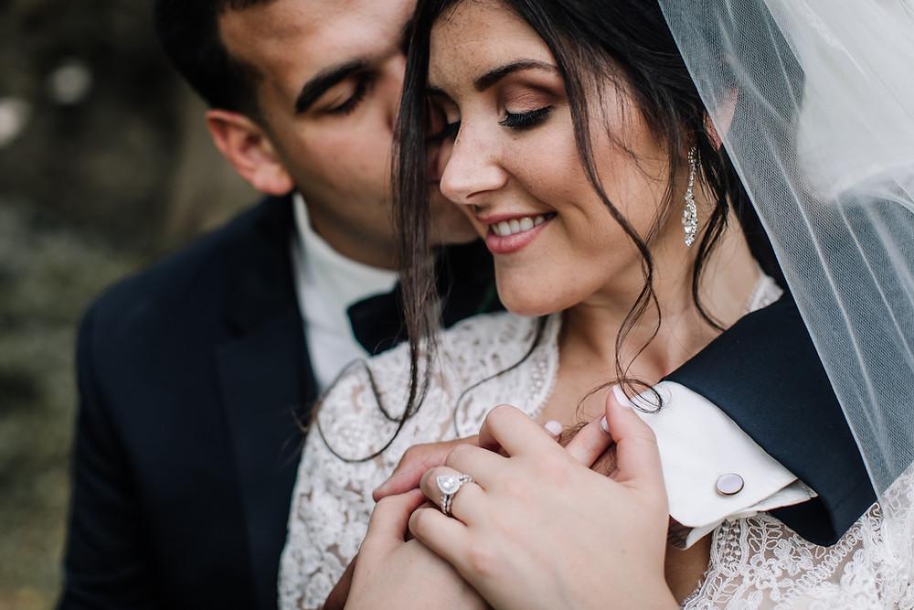 Lehigh Valley wedding photographer, wedding couple portrait